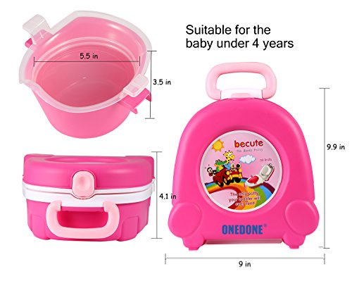 Onedone Portable Travel Potty Urinal For Boys And Girls