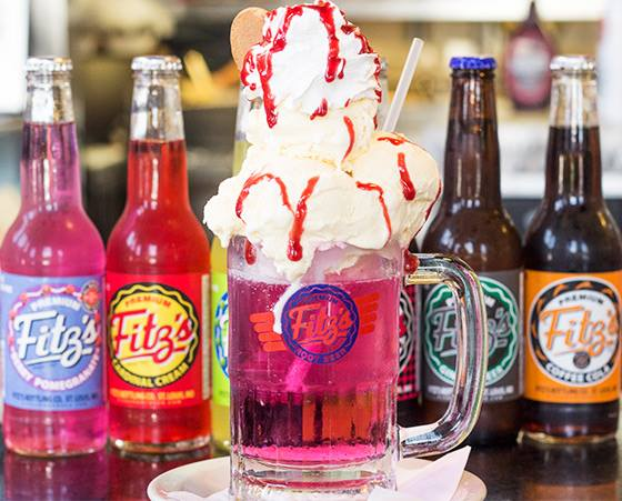 Kid Friendly Restaurants In Saint Louis Fitz S Ice Cream Float