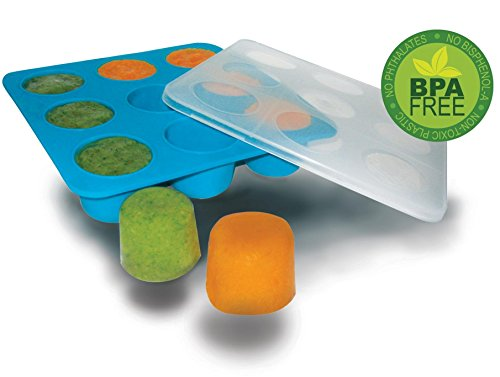 Homemade Baby Food Storage Solution Silicone Freezer Tray
