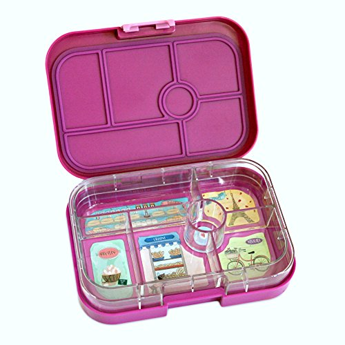 Yumbox Leakproof Bento Lunch Box Container Bijoux Purple For Kids Bento Style Lunch