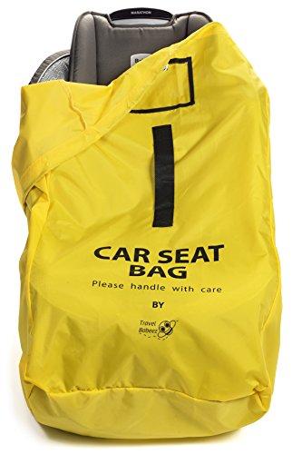 6bb4e0a605b6 Travel Babeez Durable Car Seat Travel Bag, Airport Gate Check Bag ...