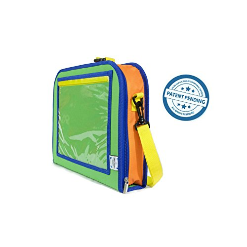 My Specialty Shop K001-16 Great for Road Trips and Travel used as a Lap Tray Writing Surface or as Access to Electronics for Kids Age 3 Kids Backseat Organizer Holds Crayons Markers an iPad Kindle or Other Tablet
